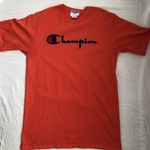 Champion Heritage Direct Flock Tee